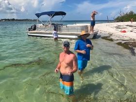 Cayo Costa, Pontoon Boat, Jensen's Marina