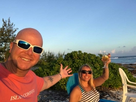 Sunset on Little Cayman