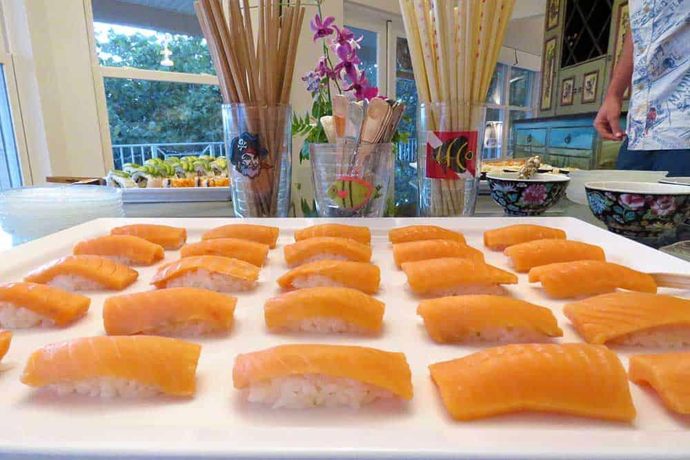 Pirates Point Sushi Night