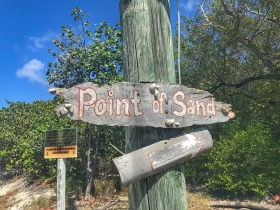 Point of Sand, Little Cayman, Beach, Sign