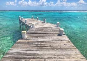 Dock, Point of Sand, Little Cayman, Cayman Islands