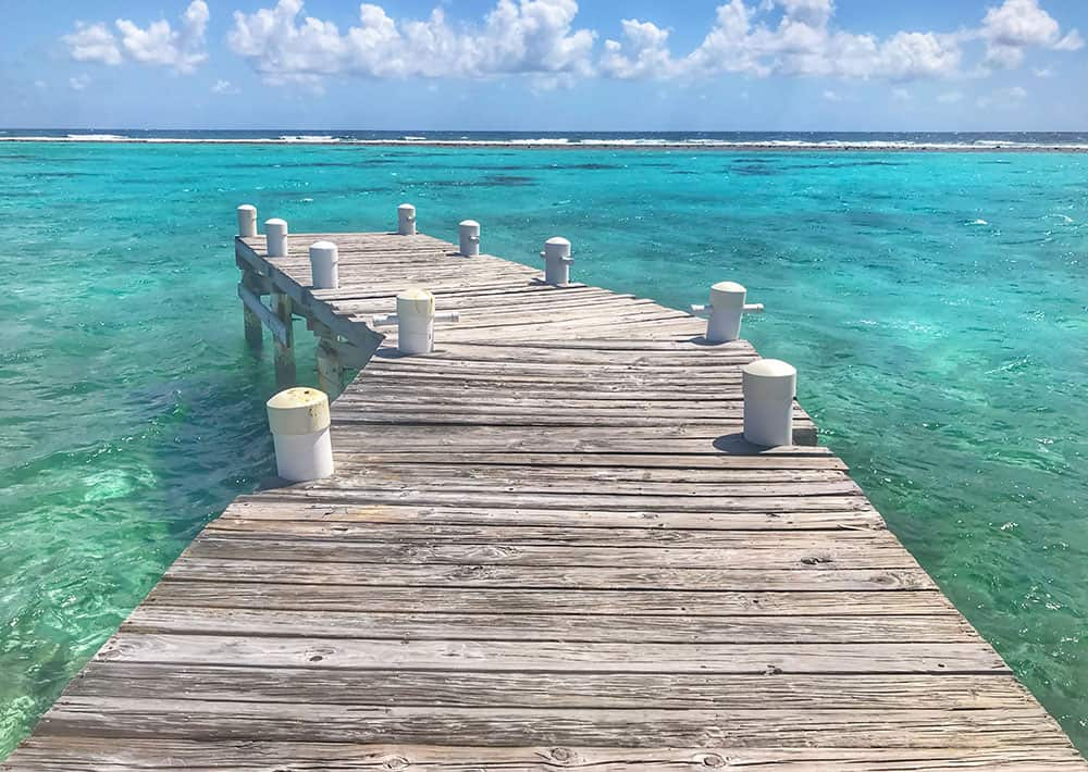 Dock, Point of Sand, Little Cayman, Cayman Islands