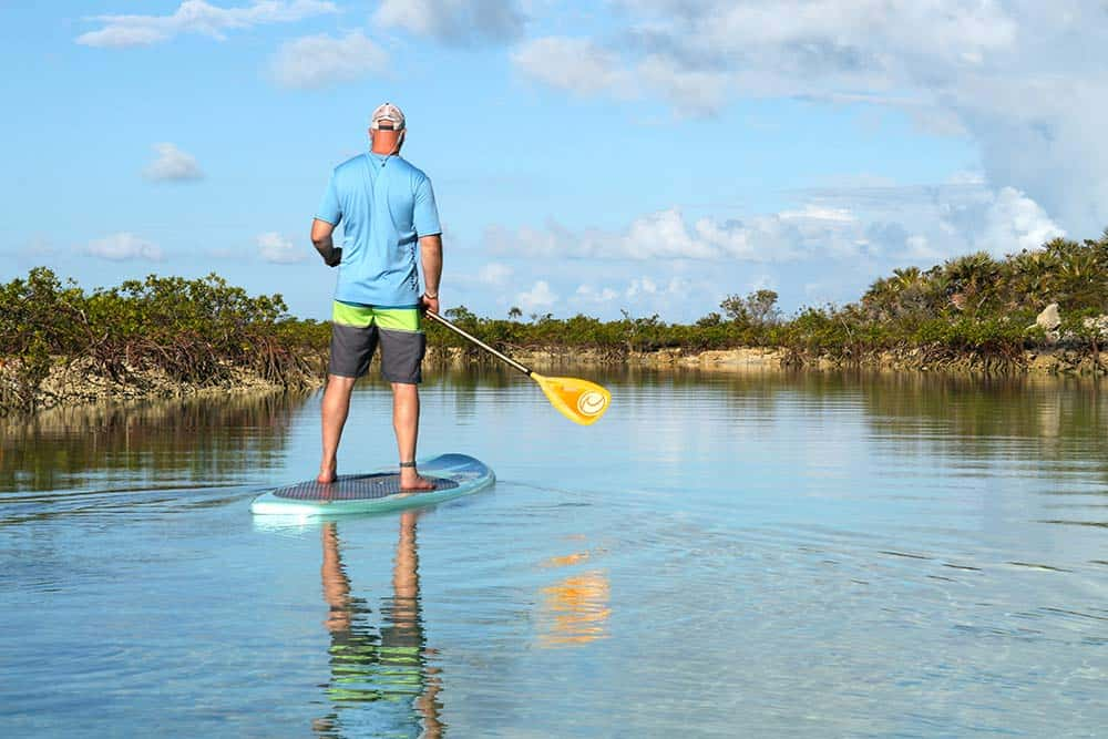 Fountain Bay Resort Cat Island Paddle boarding