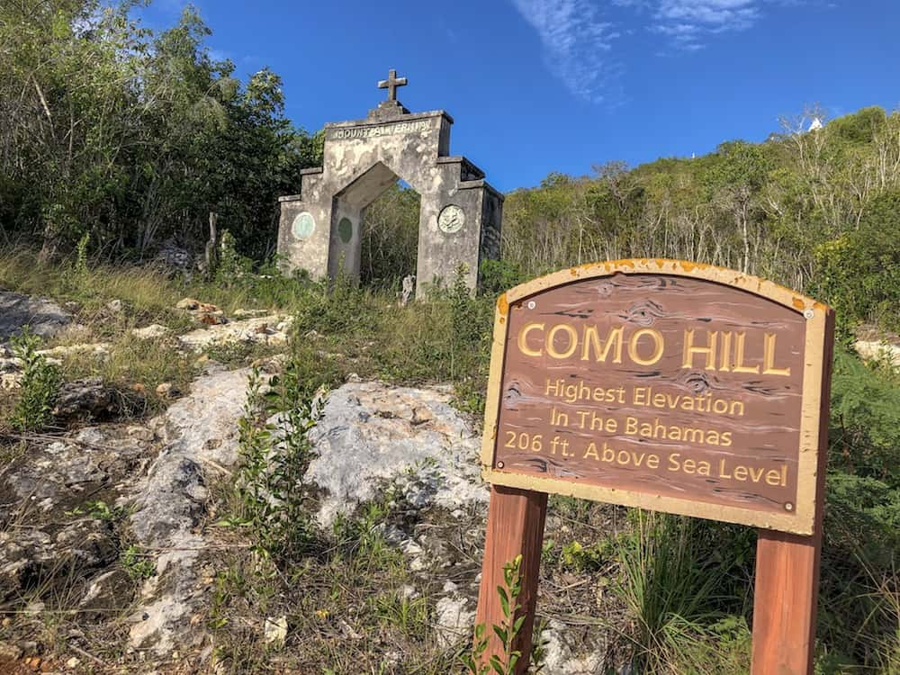 Cat Island, Bahamas, Como Hill, The Hermitage, Mount Alvernia
