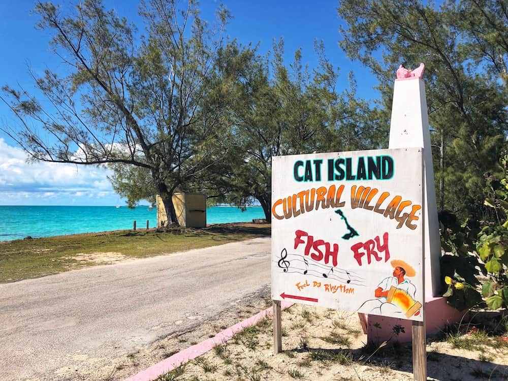 Fish Fry, Cat Island, Bahamas