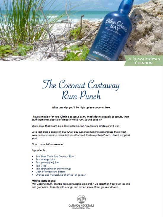 rum drink recipe