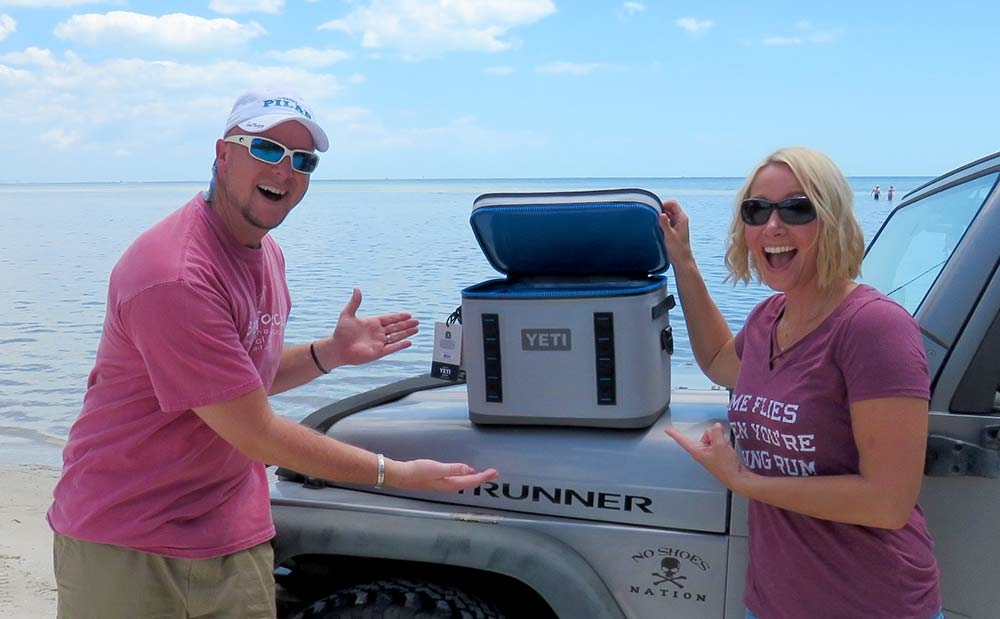 Yeti cooler giveaway