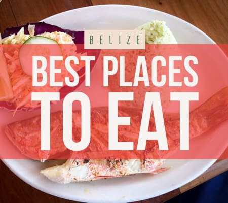belize best restaurants