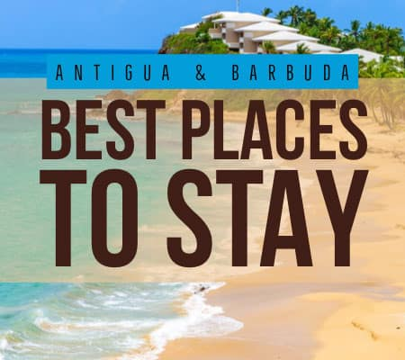 antigua best places to stay