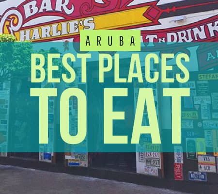 aruba restaurants