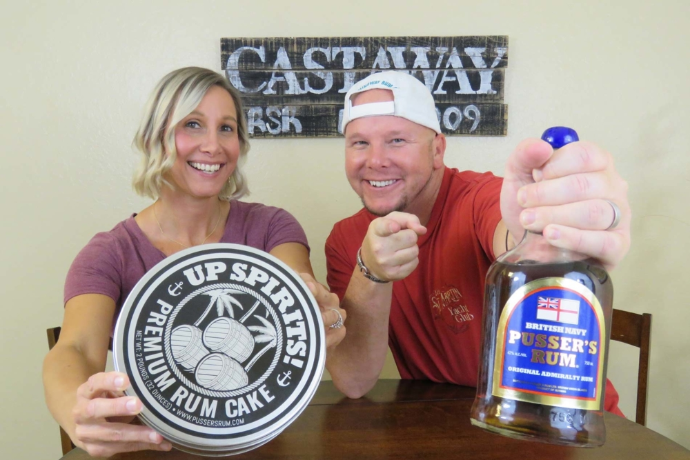 pusser's rum cake review