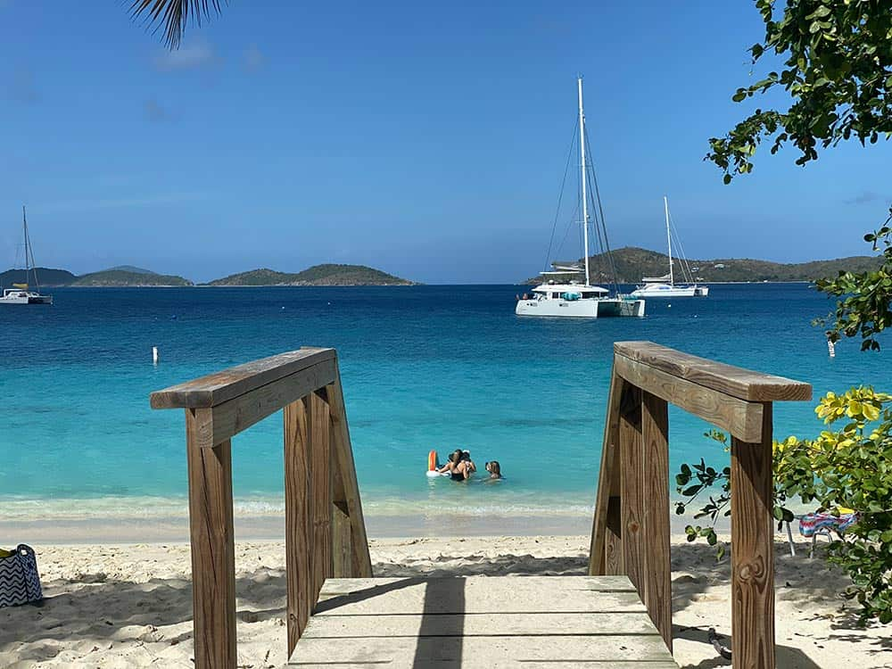 Honeymoon Beach St. John best beaches