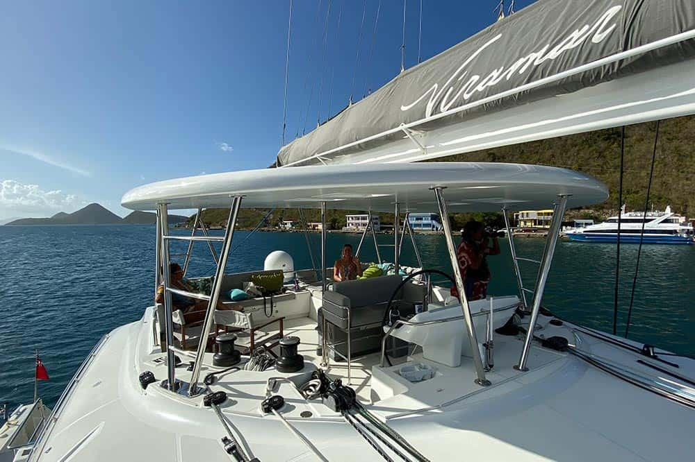 Viramar Charter Yacht Fly bridge