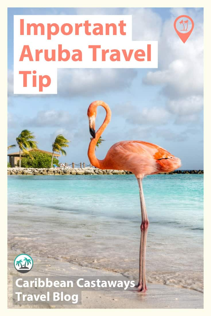Aruba travel tip