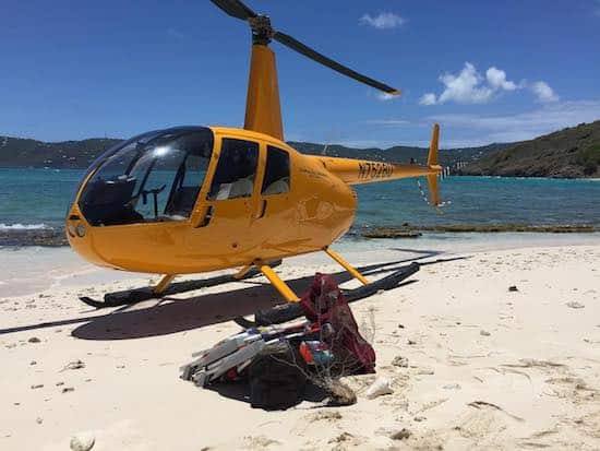 Helicopter tours Virgin Islands