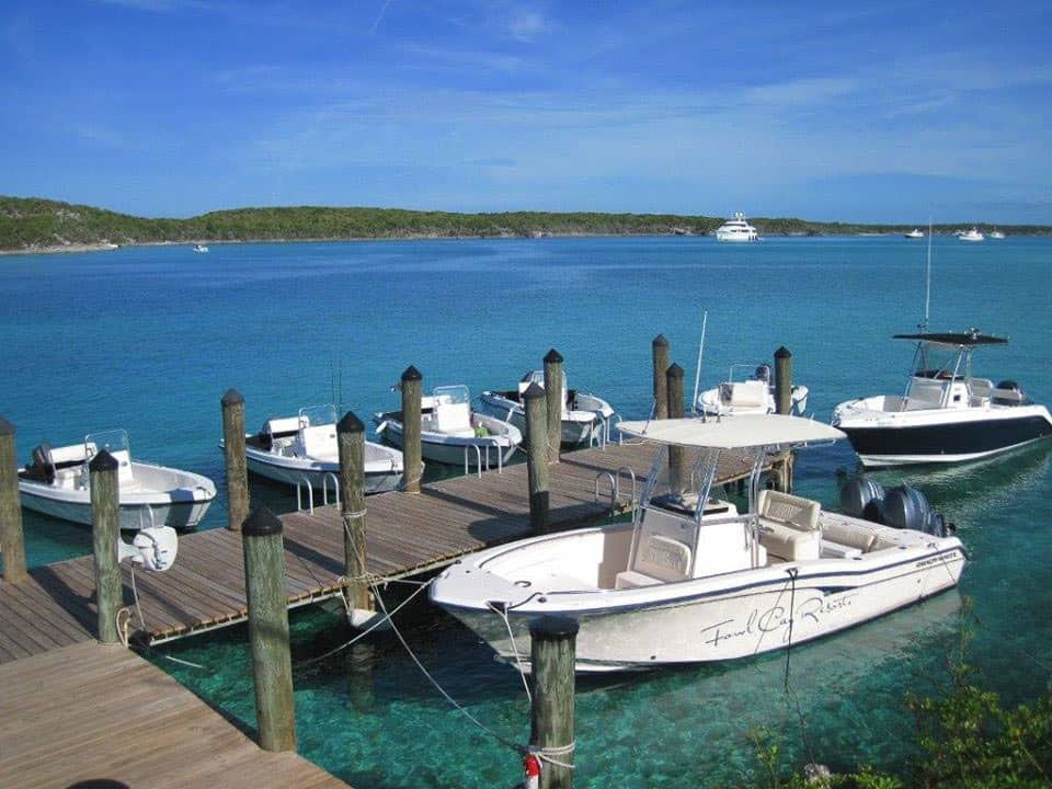 Fowl Cay Resort Private Boats