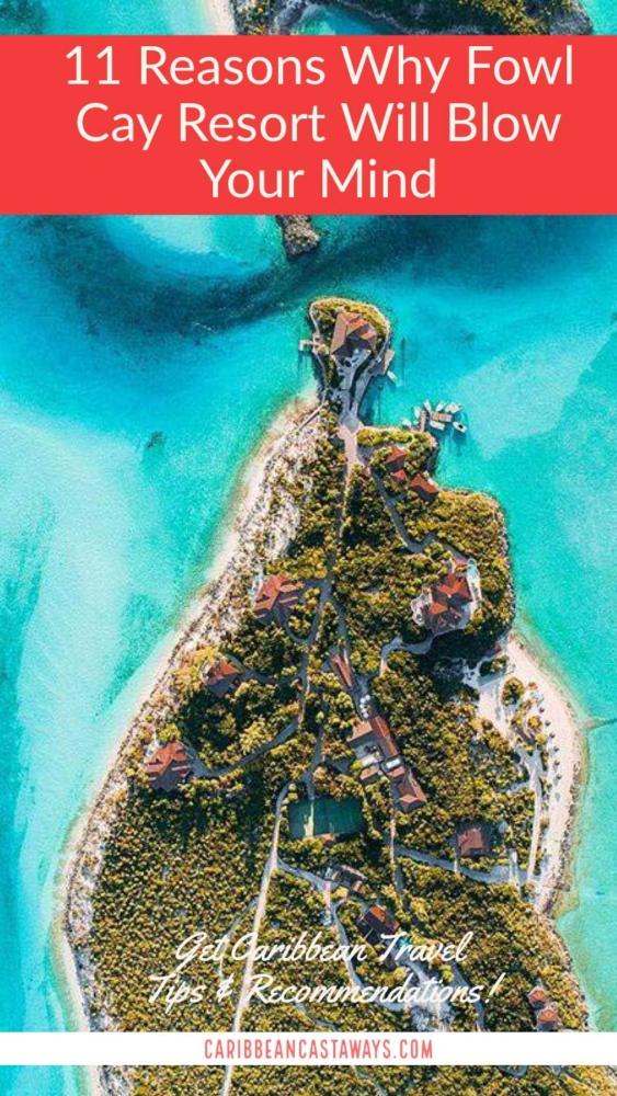 Fowl cay Resort pin