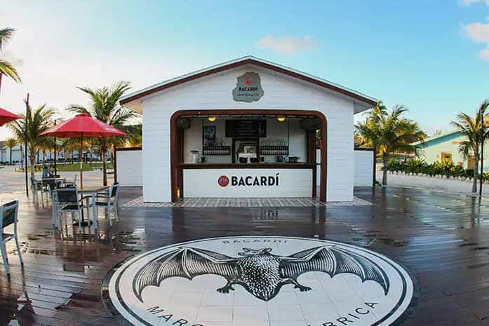 Bacardi Bar Great Stirrup Cay
