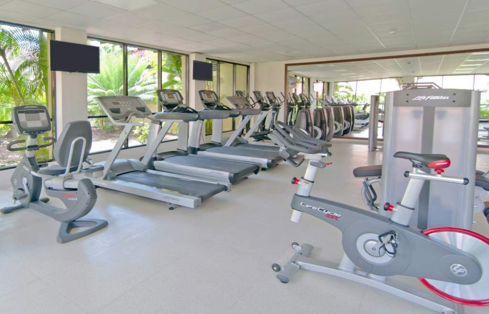 Radisson Grenada fitness room