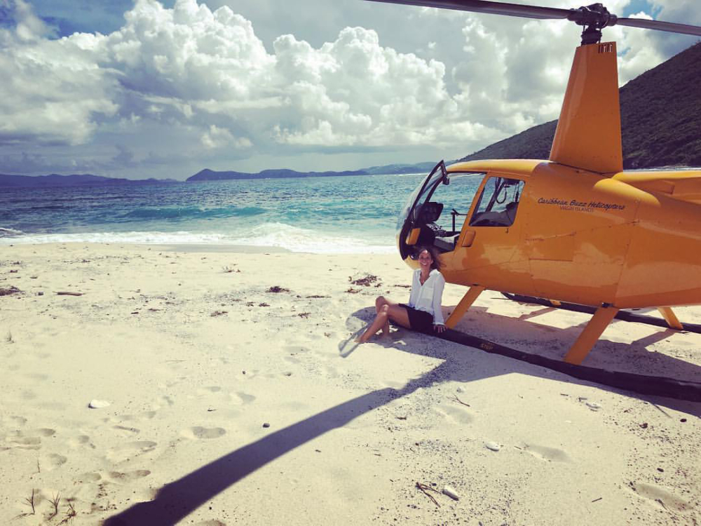 Caribbean Buzz helicopter trips