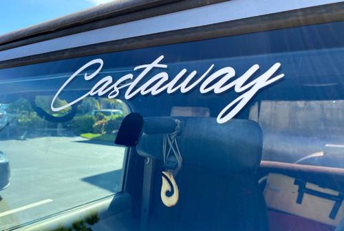 Castaway Sticker