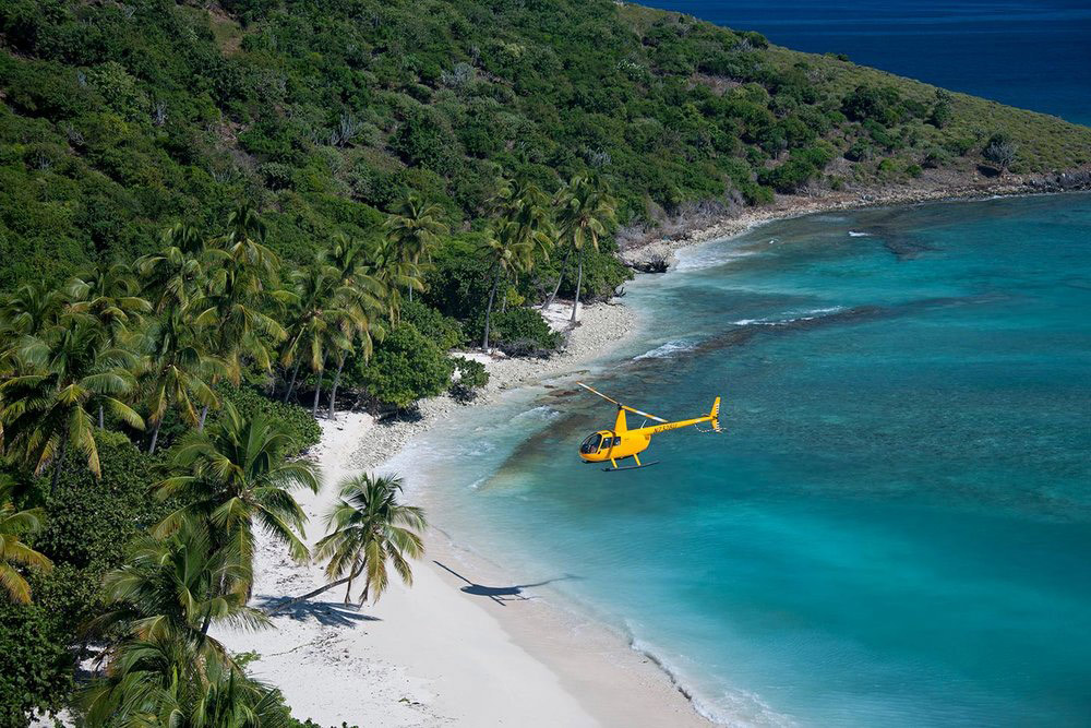 Caribbean Buzz helicopters